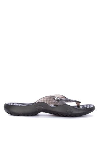 Krooberg black Viper 2 Men's Sandals C923ASH206D8A2GS_1