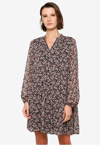 Vero Moda black Lilo V-Neck Dress BAB6BAA687599AGS_1
