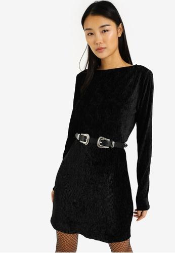PIMKIE black Corduroy Dress FF511AA11BAFBCGS_1