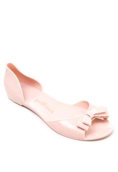 Misty Peep-Toe Flats
