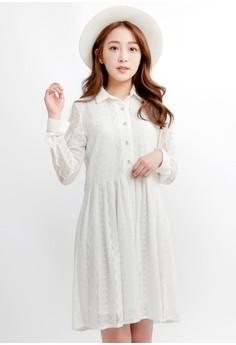 ... Perempuan Source · Korea Fashion Style baru jumpsuit gadis rok anak renda gaun putri Abu abu dan