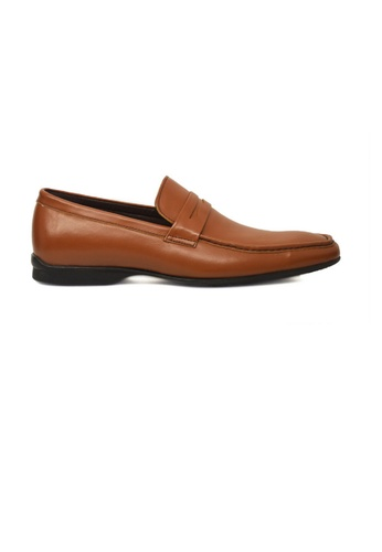 Tomaz brown Tomaz B12A Penny Loafers (Brown) TO717SH86GOVMY_1
