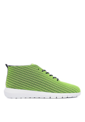 Life8 green Mesh Sport Shoes With Deodorant Footbed-09376-Neon Green LI286SH81GDQMY_1