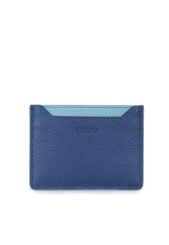 Picard blue Picard Rhone Card Case in Jeans F0646AC3CD0282GS_1
