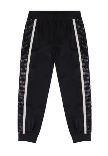 Guess black Poly Crepe Pants 2D834KA882D4FFGS_1