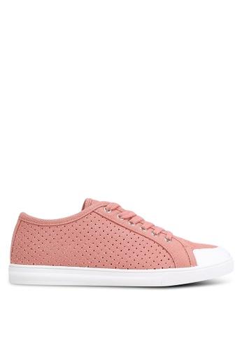 ZALORA pink Mesh Sneakers F07E6SH4FE41E8GS_1