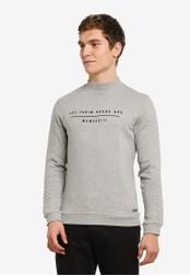 ESPRIT grey Long Sleeve Sweatshirt ES374AA0S8UYMY_1