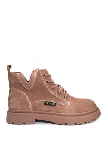 Twenty Eight Shoes VANSA 型格磨沙牛皮馬丁靴 VSW-B301 6C188SHDF396AFGS_1