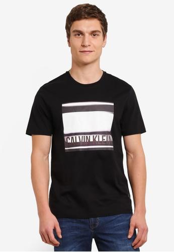Calvin Klein black Thany Crew Neck Tee - Calvin Klein Jeans CA221AA0S9CKMY_1