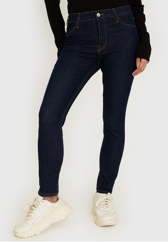 H&M blue Skinny Jeans FA19AAA6FEDC34GS_1