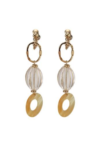 niko and ... yellow Mixed Earrings 972BBACB5CBD0AGS_1