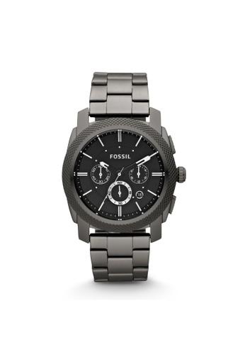 Fossil grey Machine Chronograph Watch FS4662IE B045FAC161ECDFGS_1