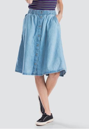 real deal better exquisite craftsmanship Levi's Lightweight Midi Skirt Women 59672-0000