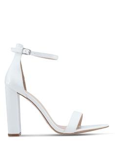 ce5a228d53e0 Public Desire white Miao Block Heels E75DCSH4A680D9GS 1