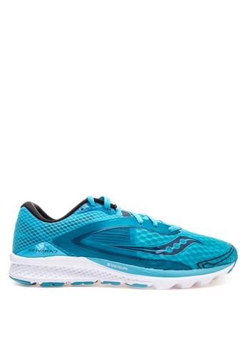 Saucony blue Kinvara 7 Running Shoes SA012SH63PNWPH_1