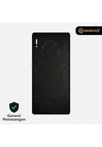 Exacoat Huawei Mate 30 Pro 3M Skin / Garskin - Leather Series - Leather Black 7FAF8ESFFF324EGS_1