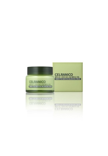 Celranico green Celranico Green Tea Seed Oil Balancing Cream 89E69BE0CD822DGS_1