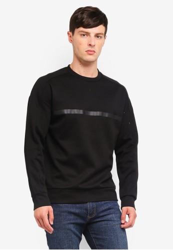Jack & Jones black Crew Neck Sweatshirt 4CA5CAA7805537GS_1