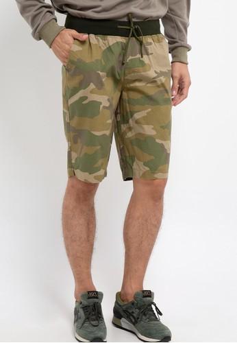 Malibu green Bermuda Short Pants D8801AA1633AADGS_1