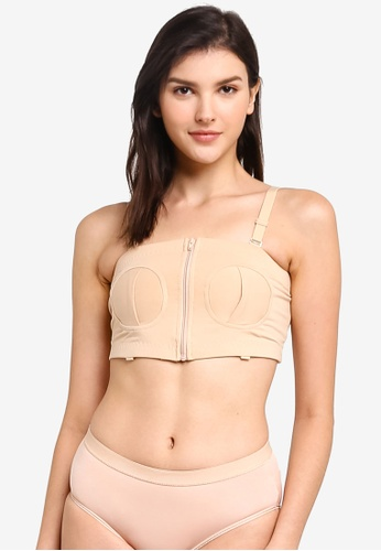 Bove by Spring Maternity beige Maryann Hands-Free Breastpump Bra 4BD8FUS6A254A2GS_1