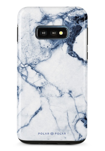 Polar Polar blue Indigo Vase Dual-Layer Tough Case Glossy For Samsung Galaxy S10E B0439ACC791B1AGS_1