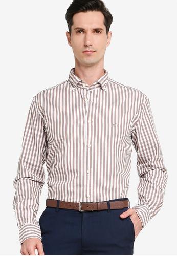 Sacoor Brothers brown Men's  Shirt Slim Fit 1D0E1AA9D2C016GS_1