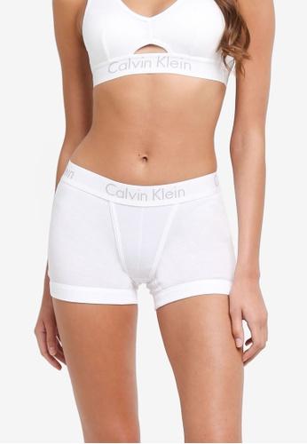 Calvin Klein white Boyshort Panties - Calvin Klein Underwear 1AACDUS0963DEFGS_1