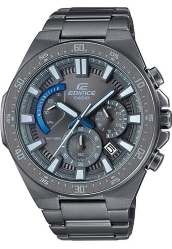 CASIO grey Casio Edifice EFR-563GY-1AVUDF Grey Stainless Steel Watch 9E177AC17AA836GS_1