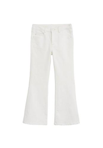 MANGO KIDS white Flared Jeans 1282DKA9259A1AGS_1