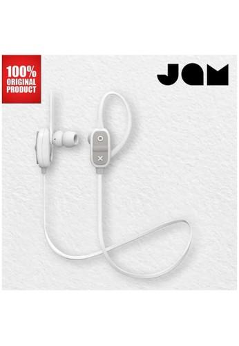 Jam Audio grey Earphone Bluetooth Wireless Live Large Jam Audio - Grey 0851FES26E7CDCGS_1