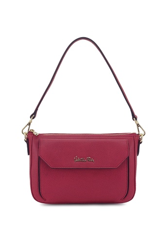 8df6557f30df5 Valentino Rudy pink Valentino Rudy Hand-tipped Leather Shoulder Bag  39C2EAC2832D92GS 1
