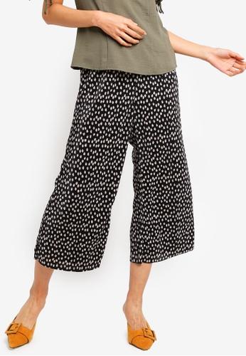 Dorothy Perkins 黑色 圓點長褲 F3D90AAC087633GS_1