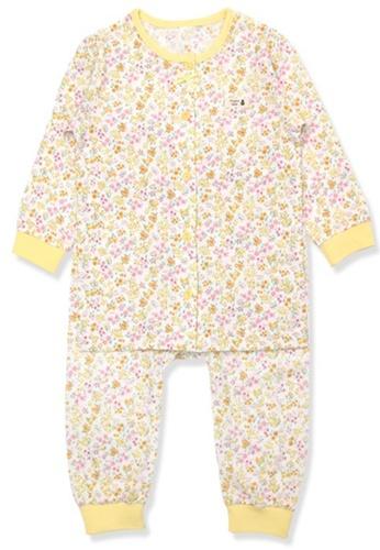 Organic mom yellow Organic Cotton Mia Floral Lightweight Long Sleeves Pjs 16567KA55D72DAGS_1