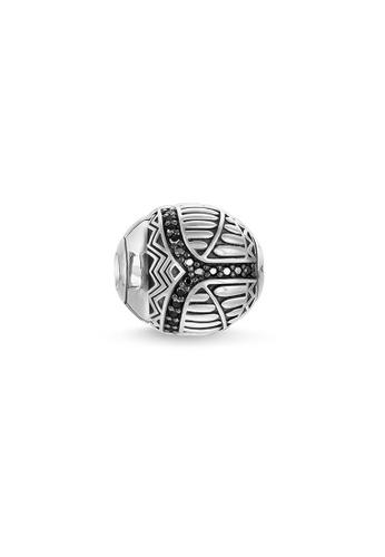 "THOMAS SABO silver Bead ""black scarab"" 0C5C4AC1492680GS_1"