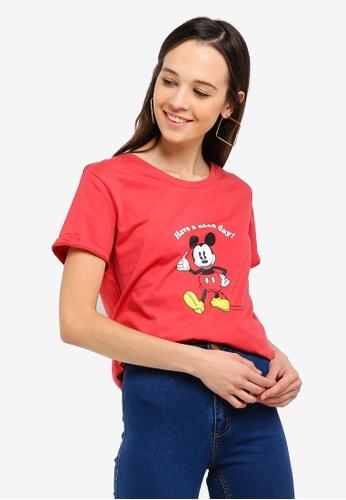 Cotton On pink Tbar Fox Graphic T-Shirt 9DE75AA48E677EGS_1