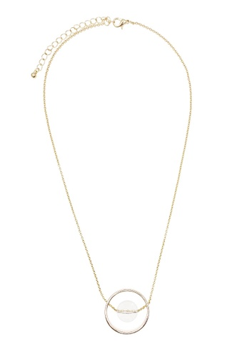 LUCCACAL gold Femme Sybil Necklace LU294AC08JVVMY_1