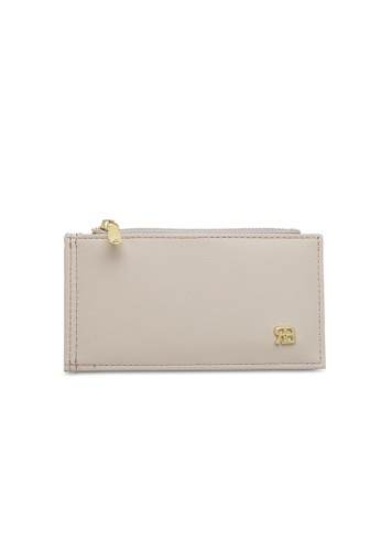 Bethany Roma beige Bethany Roma Card Holder Zip Coin - Beige 1C6FAAC5D97EF2GS_1