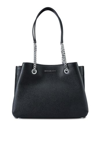 MICHAEL KORS black Teagan Handbag (nt) FE2C0AC46A3006GS_1