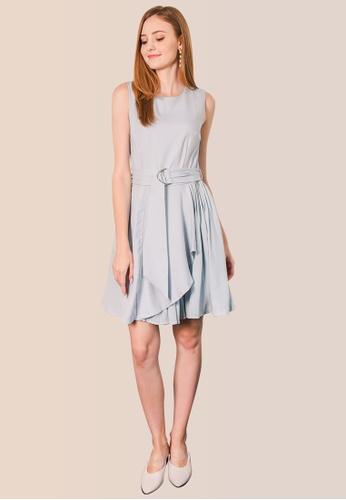 L'zzie blue LZZIE ROSSUM DRESS - LIGHT BLUE 0BCCEAAE7D3FF7GS_1