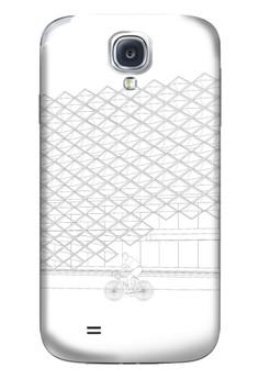 Brise Soleil Up Matte Hard Case for Samsung Galaxy S4