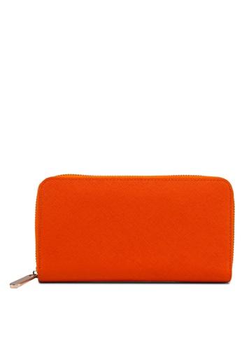 Zolace orange and gold Everyday Purse ZO350AC73ALUMY_1