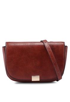 40972a4731 Mango brown Zipped Lap Belt Bag 99AD9AC544BCB7GS 1