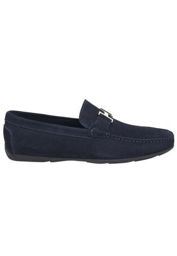 Tomaz blue Tomaz C031 Buckled Loafers (Navy) B0EC6SHFD2DB12GS_1