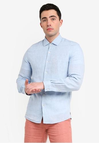 60bf44130c Slim-Fit Linen Shirt