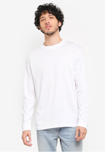 MANGO Man white Message Cotton T-Shirt MA449AA0T1EZMY_1