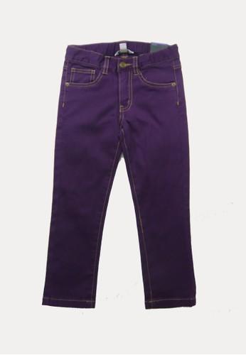 Bossini purple Bossini Kids Girl Pants Dk Purple (5411050036) 37C8CKA7ECFFC2GS_1