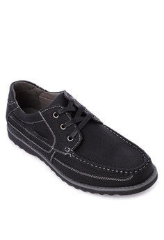 Lace-up Loafers