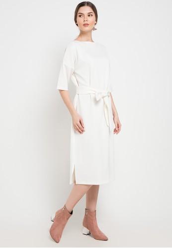 Noche white Poppy Dress 0EB40AAD99E72AGS_1