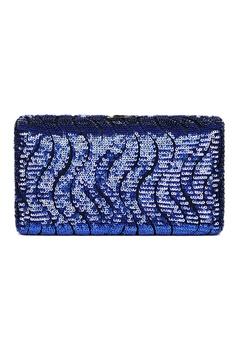 The Chic Initiative blue Tosca Sequined Clutch (Blue) 5F752ACE32E6DCGS 1 275dbf8f8f