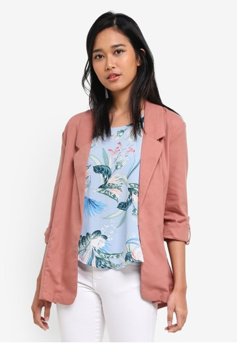 Cotton On multi Deconstructed Soft Blazer CA4DEAA39F2640GS_1